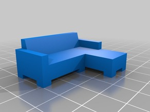 Couch (3 seat L-shape)