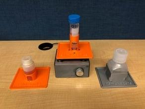 Customized shaker platforms for DIYbio Orbital Shaker