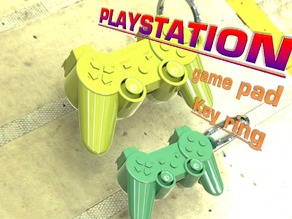 PLAYSTATION Key Ring