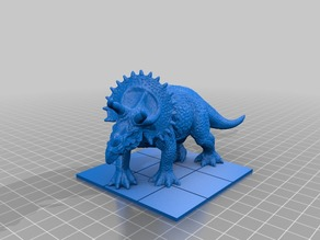 Scale Triceratops
