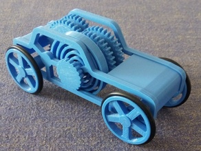Windup motor Car toy