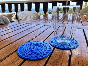 Dessous de verre Maori // Maori coaster