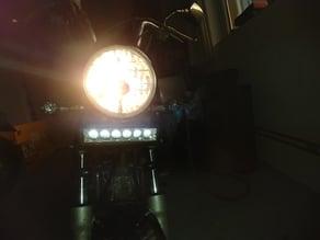 LED light bar mount for DAX