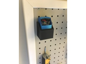 TV-B Gone Pegboard Container
