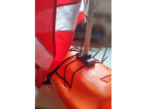 flag stand for baywatch buoy
