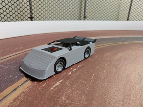 1/43 Dirt Late Model Slot Car
