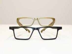 Lunettes | Glasses (personnalisables | customizable) VTO