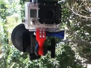 PanaVise Gopro adapter