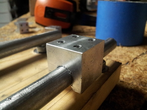 Printed jig for metal CNC bearing