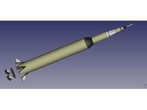Saturn V Model rocket BT 80