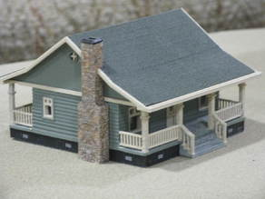 HO Scale Cottage