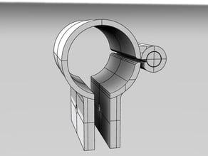 MPCNC Acrylic enclosure Hinge and Foot