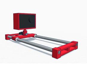 Easy Cameraslider for SJ4000 Action Cam