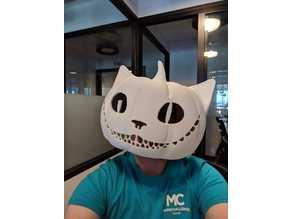 Cheshire Pumpkin Mask