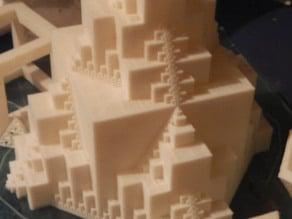 fractal inverse menger walls rework