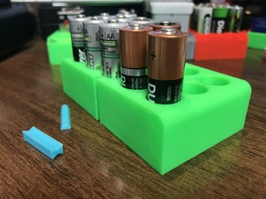 AA BattBlox (AA battery storage)