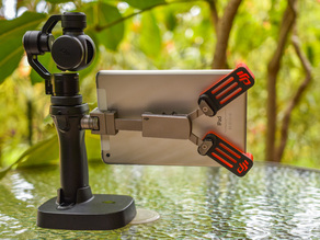 DJI Osmo 4K stabilised camera - iPad Mini mounting brackets