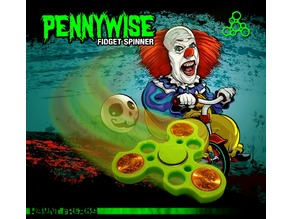 Pennywise Fidget Spinner