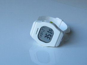 Fitness Watch with Heart Rate Sensor