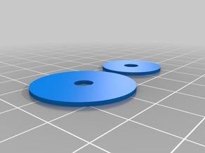 Precision Piezo - 27mm and 20mm Piezo Disc drill guide.