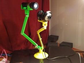 WebCam Arm with Light Option