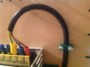 Simple cable holder.