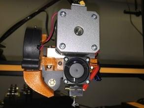 Flexion Direct Extruder Mount V2 for CR-10
