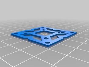 Flight Controller Mounting Hole Template