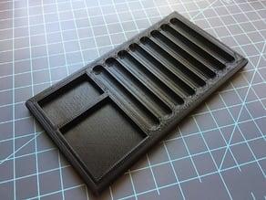8 column pinning tray