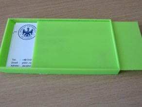 business card holder 90x50