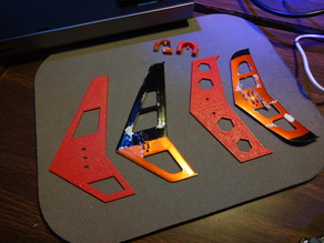 Replacement Parts for RC Electric Helicopter.