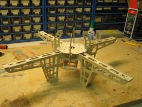 Murkelcopter - quad copter frame