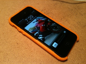 iPhone 5 Rounded Snap-On Case With Buttons