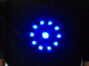 Printable LED Arc Reactor