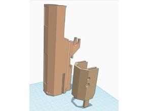 Split Hi Capa Carbine Kit receiver