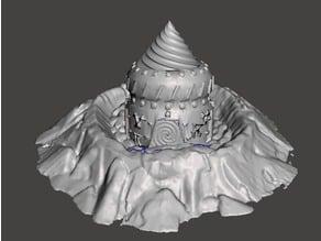 Ratman Chew Mound with Digger Machine