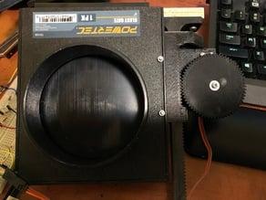 Servo Controlled Blast Gate + AC sensor
