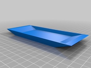 My Customized Tray: Parametric & Simple lid