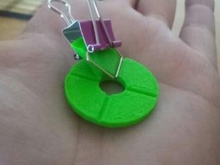 Clover Leaf + Skew Planar Wheel Antenna Jig 5g8