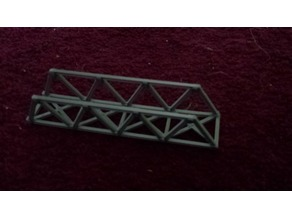 N-Scale 120mm long iron bridge