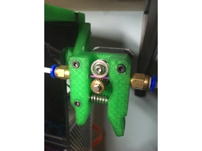 Simple bowden extruder Anet a8/a6 for 2020 rails am8 am6