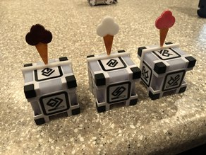 Cozmo the Robot Ice Cream decoration for blocks
