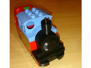 Lego Duplo steam train front piece replacement