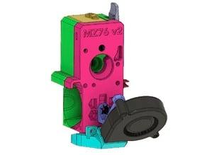 Bondtech BMG Prusa MK3S/MK2.5S v2 FDM printable + RHD ver.C fan Shroud