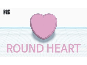 [1DAY_1CAD] ROUND HEART
