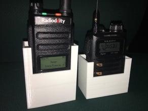 Yaesu FT-70D and Radioddity GD-77 holders