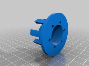 Pulley wheel exterior side