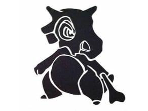 Cubone stencil