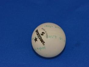 Inspirational Ping Pong balls