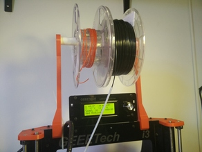 i3 8mm Acrylic Frame Spool Holder